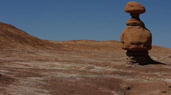Don't Chase the Lizards in Goblin Valley