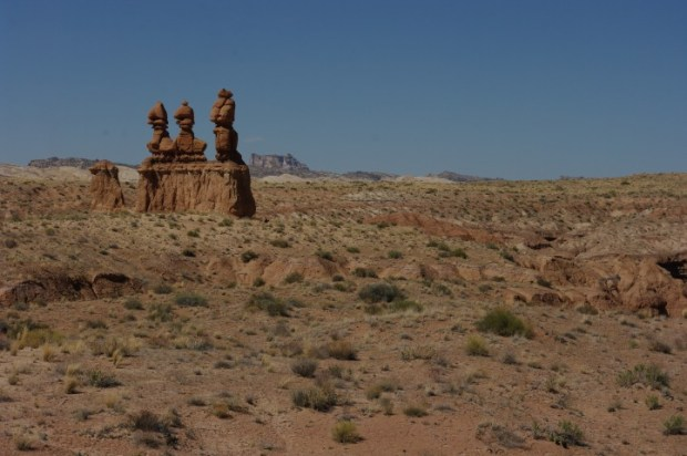 Formations outside Goblin Valley.