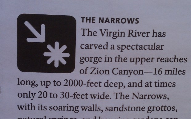 This icon will no longer represent the way you are treated at Zion's South Campground.
