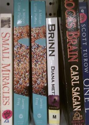 Misfit Books: A Million Little Pieces