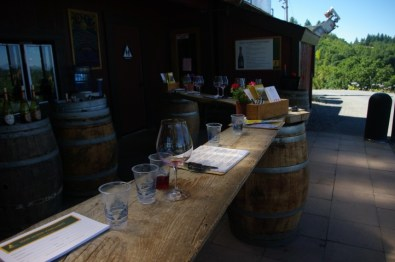 """The other side of the tasting """"room."""""""