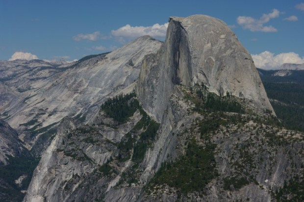 Before we leave, let's have one last look at Half Dome...