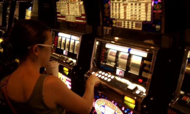 Lisa gambles one last dollar at the Border Inn before succumbing to strict chastity in Utah.