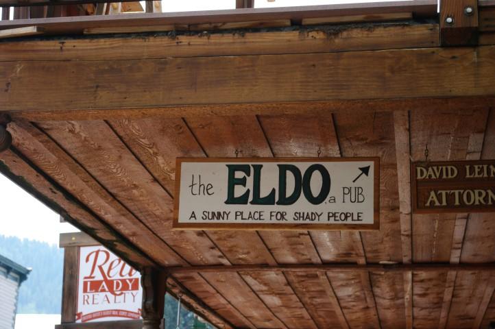 The Eldo is on the second floor. [LAM]