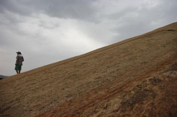 Our last slickrock hike.