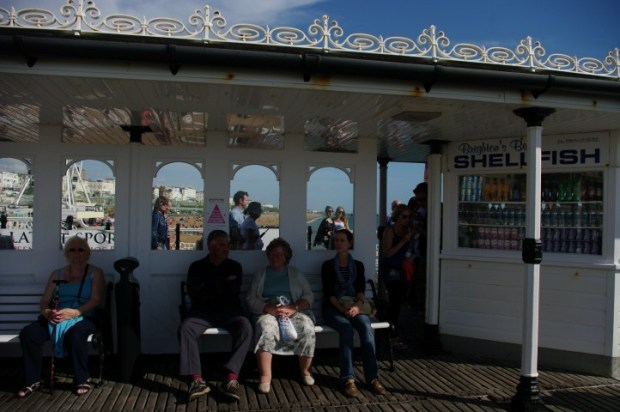 Great people-watching along the Pier.