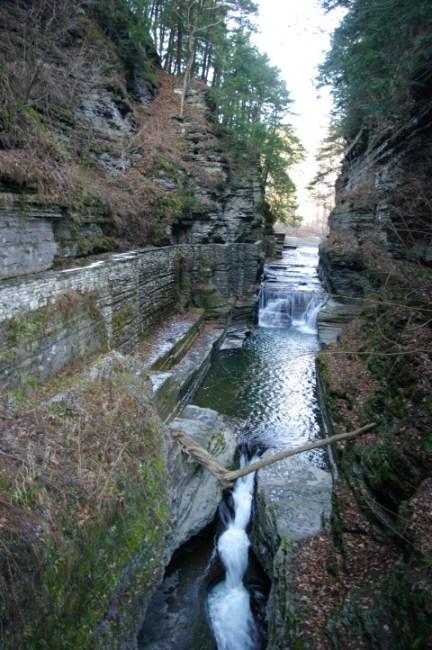 The upper gorge entrance.