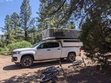 Camping at Thunder Trails.
