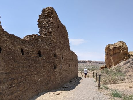 Hungo Pavi site at Chaco