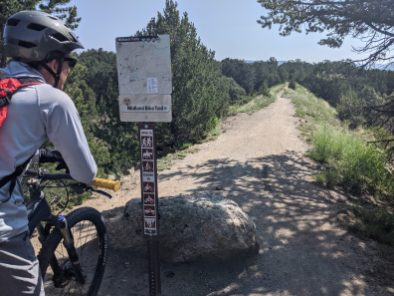 The easiest part of the easiest trail at Buena Vista.