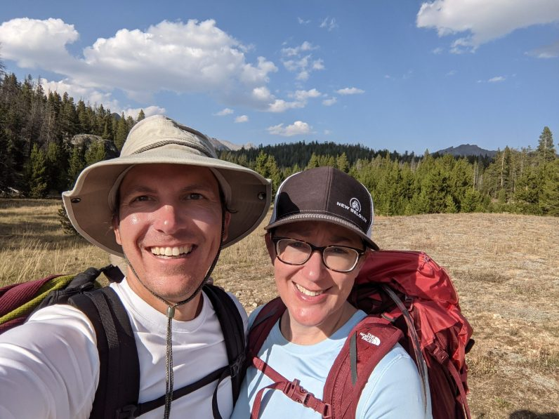 The end of a very long hike - feet hurt!