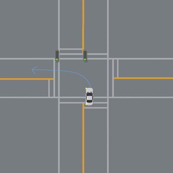 turn left easy