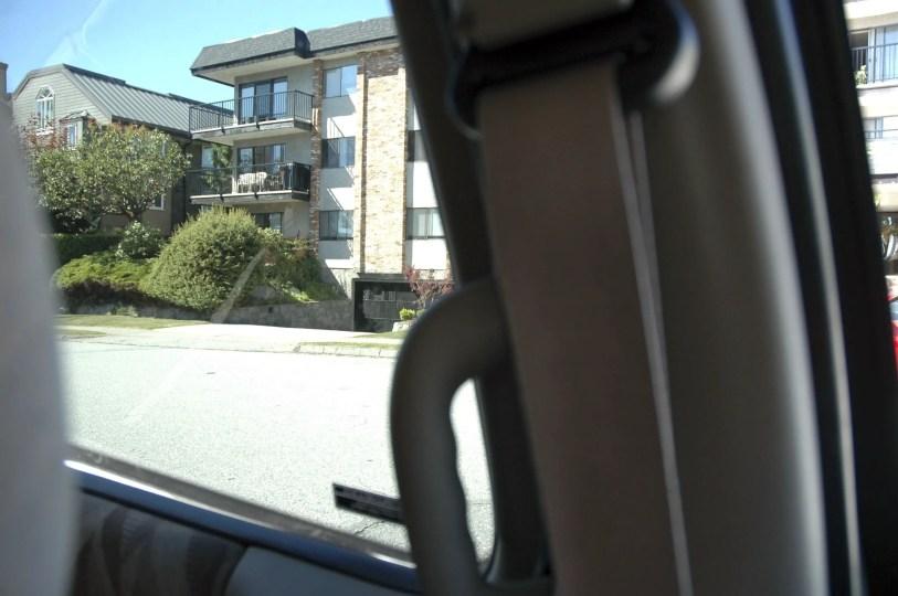 driveway blind spot
