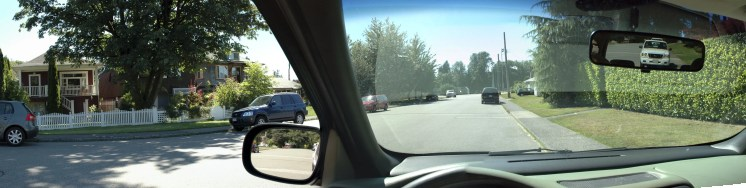 blind spots when driving