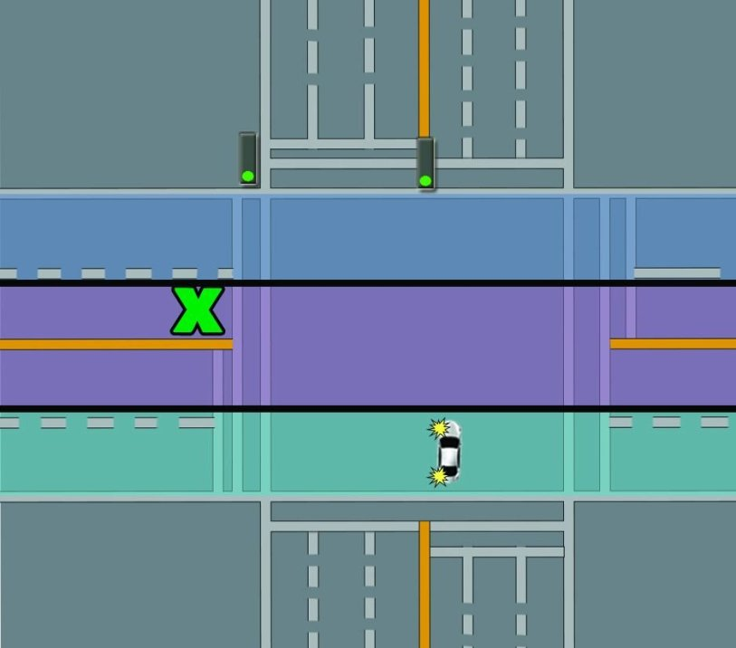 intersection turn