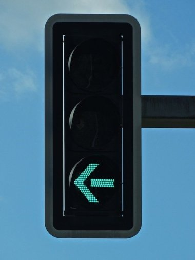 left turn signal lights