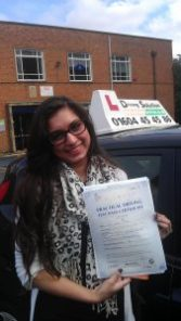 Intensive driving course Rushden