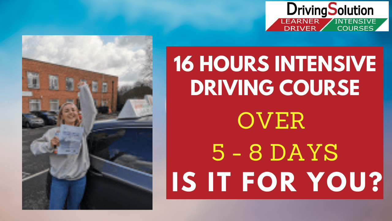 Intensive driving course Daventry
