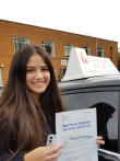 Intensive driving course Northampton