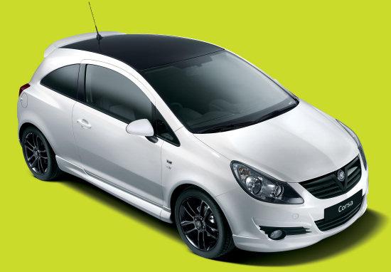 Vauxhall Corsa Black & White Limited Edition