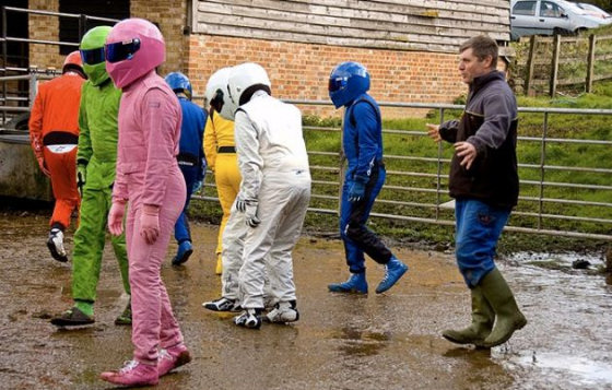 Top Gear Stig Farm