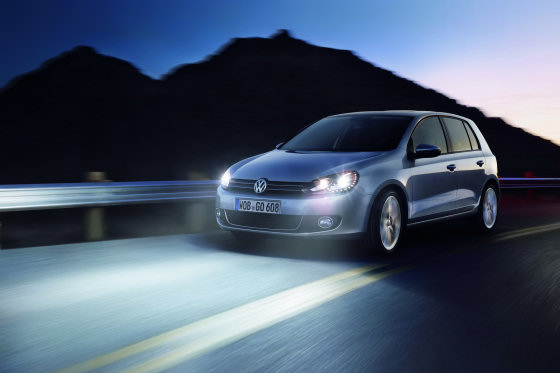 Volkswagen Golf VI LED Headlights