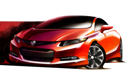 2012 Honda Civic Sketch