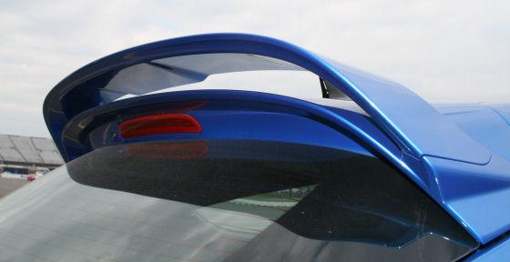 Vauxhall Astra VXR 2012 Biplane Spoiler