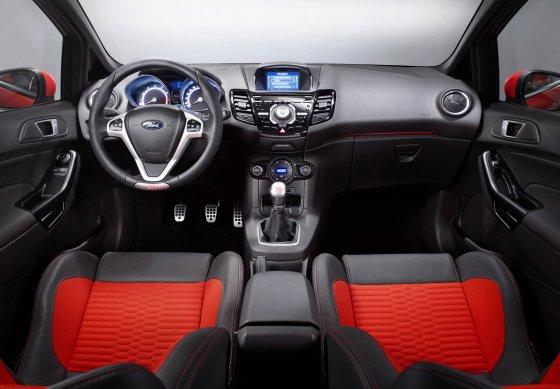 Ford Fiesta ST 2013 Interior