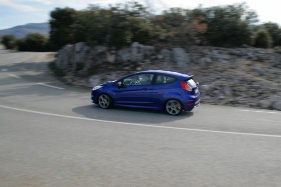 2013 Ford Fiesta ST Cornering