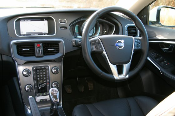 Volvo V40SE Lux Interior