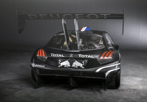 Peugeot 208 T16 Rear Wing
