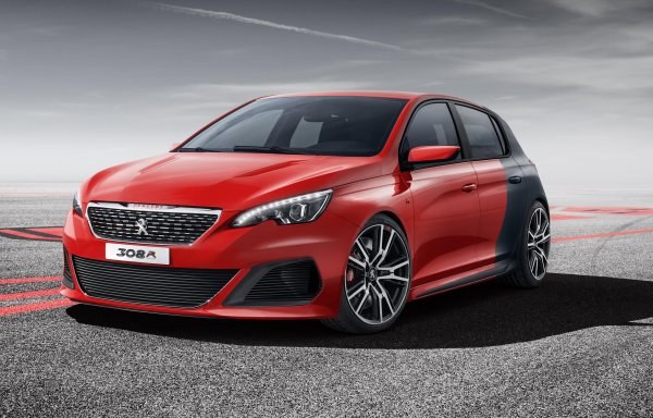 308 R Demonstrates Peugeot's Confidence