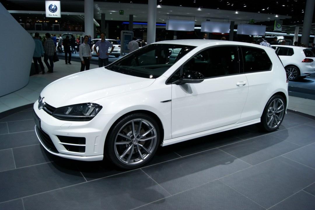 Volkswagen Golf R At Frankfurt Motor Show 2013