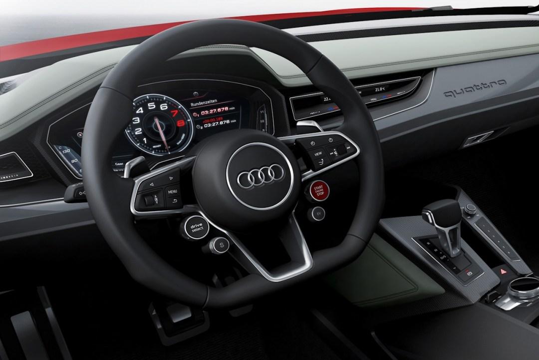 Audi 3D TFT Display