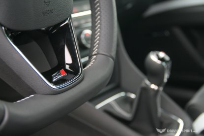 SEAT Leon Cupra 280 Steering Wheel (2014)