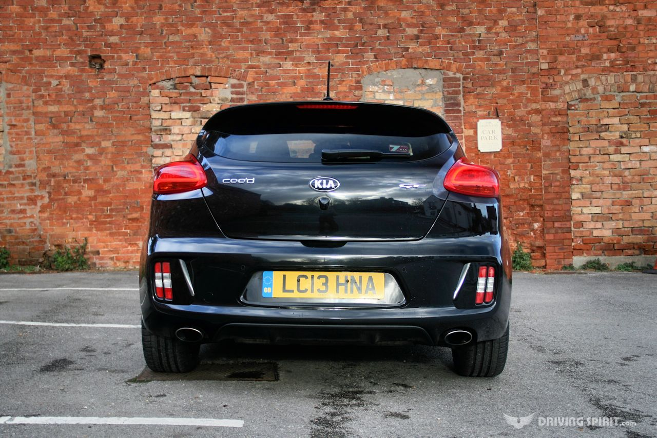 Kia Proceed GT Rear