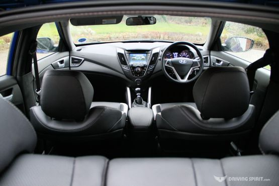 Hyundai Veloster Turbo Interior