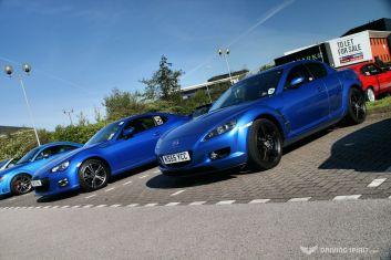 Car Cafe - RX7 Meets BRZ