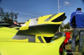 Car Cafe - Lotus Flies The Flag