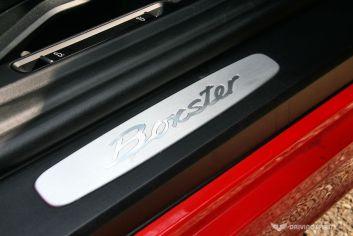Porsche Boxster 981 Door Sill
