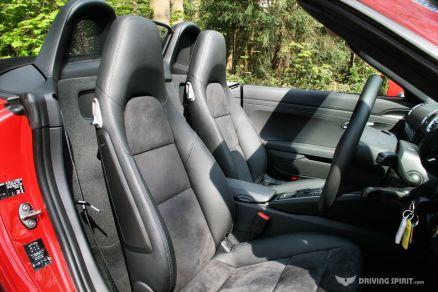 Porsche Boxster 981 Seats