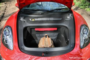 Porsche Boxster 981 Front Luggage Compartment