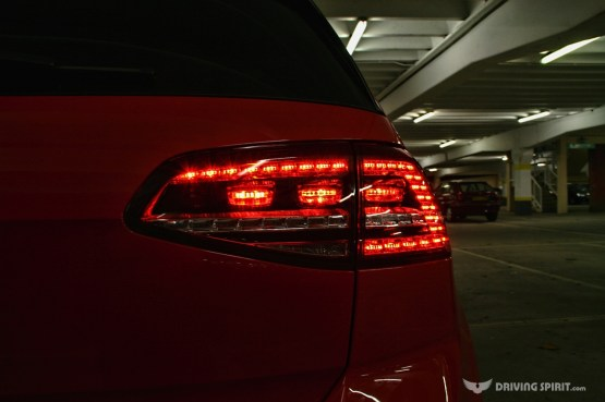 Volkswagen Golf GTD Rear Light (2014)