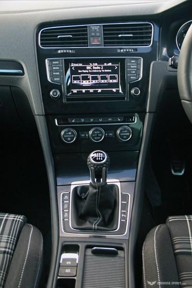 Volkswagen Golf GTD Dashboard (2014)