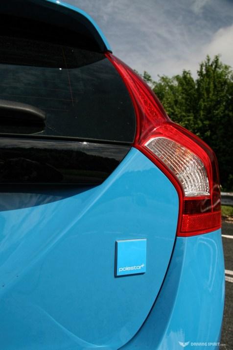 Volvo V60 Polestar Badge