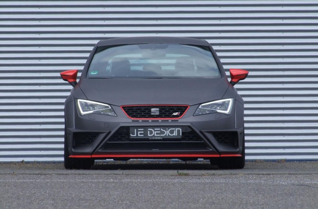SEAT Leon Cupra Widebody Kit From JE Design