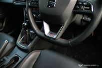 SEAT Leon FR TDI 184PS Steering Wheel