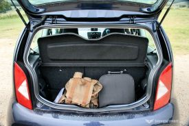 SEAT Mii Toca Luggage Compartment (2014)