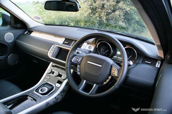 Range Rover Evoque Prestige CoupeDashboard